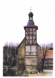Turm vor der Sanierung