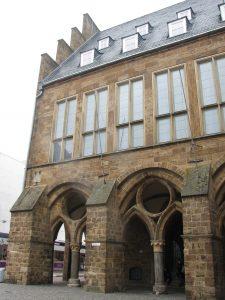 Laubengang Rathaus Minden